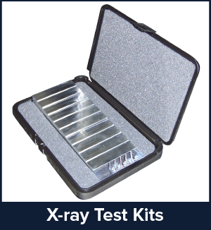 TSA Xray Test Step Wedge